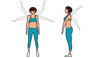 Правила выполнения упражнений при шейном остеохондрозе