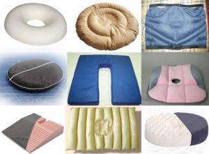 Чем полезна подушка для копчика и как ее применять