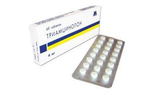 Гормональное средство синтетического происхождения Триамцинолон