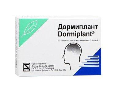 Назначают Дормиплант для лечения парасомнии и при нервозности.