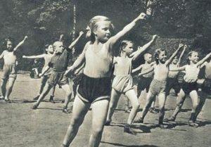 Советская зарядка для детей