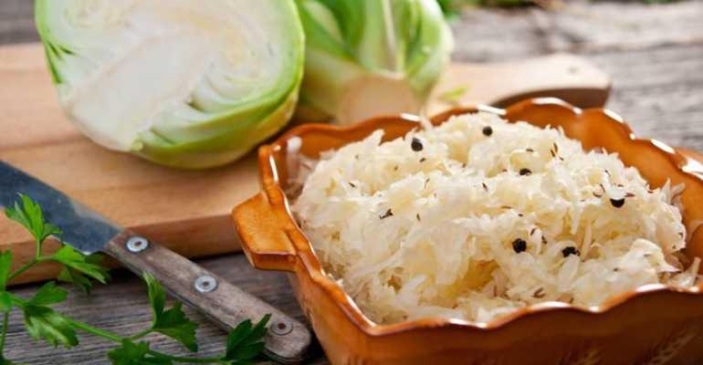 Можно ли есть квашеную капусту при подагре? Польза продукта
