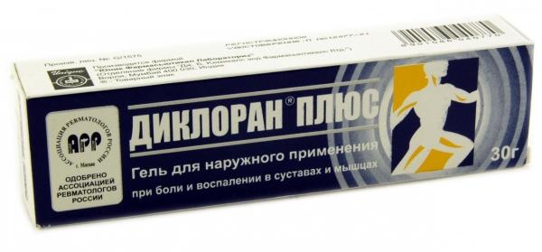 Эффективный гель при болях в суставах — Диклоран плюс