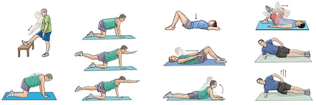 Как уменьшить боль в копчике при помощи упражнений и массажа