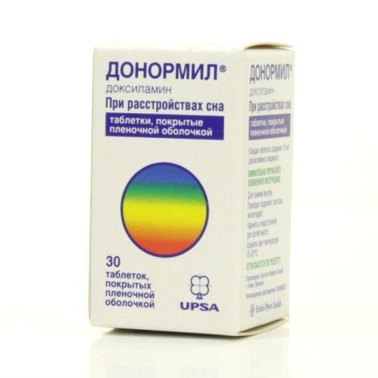 Синтетически выведенный препарат на основе диксиламинами сукцината разработан для избавления от расстройств сна – его не назначают при нарушениях центральной нервной системы, вызывающих бессонницу.