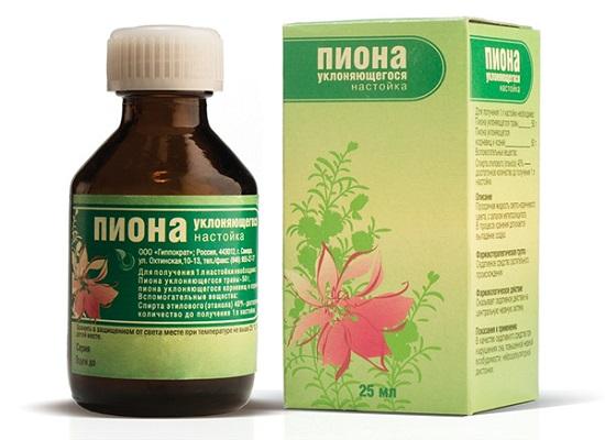 Лекарственная настойка на основе пиона максимально эффективна для восстановления после нервного срыва.