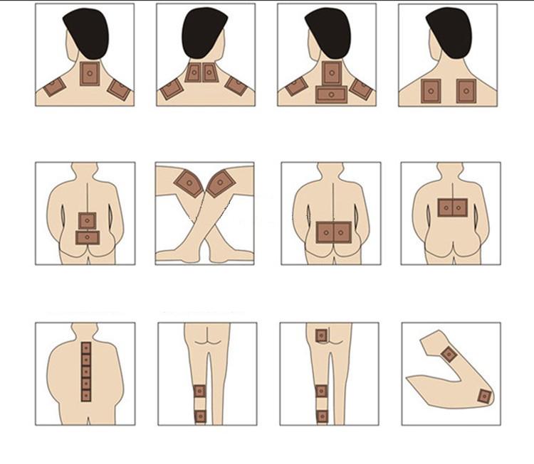 Средства вспомогательной терапии остеохондроза — китайские пластыри