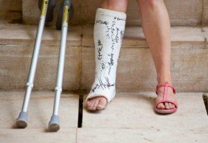 Травма и костыли