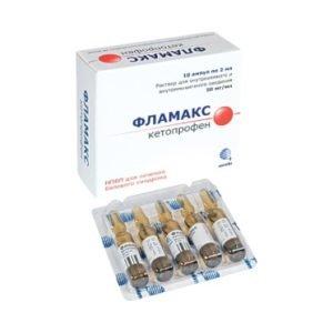 Подробное описание действия лекарственного препарата Фламакс