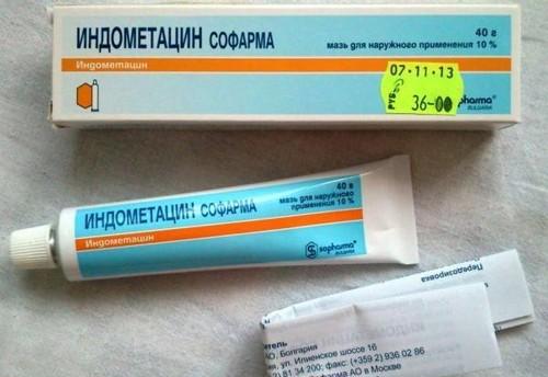 Чем полезна Индометациновая мазь для суставов